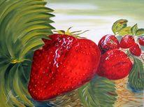 Vornbach, Rot, Erdbeeren, Grün