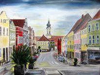 Rottaler, Markt, Platz, Haus