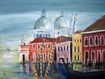 Meer, Azzur, Grande, Venedig