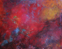 Malerei, Abstrakt, Inferno