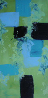 Malerei, Abstrakt, Mitte, Mediterran