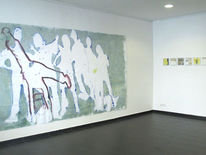 Art berlin, Gegenwartskunst, Fahnenbilder, Female artists berlin