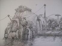 Steampunk, Zeichnungen