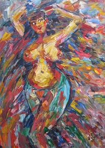 Malerei, Akt, Tanz