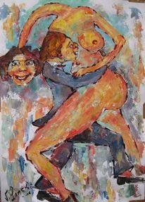 Surreal, Malerei, Tanz