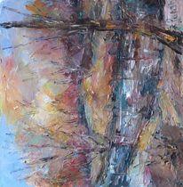 Landschaft, Malerei, Dezember