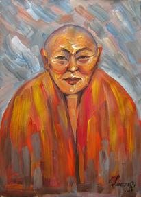 Malerei, Figural, Lama