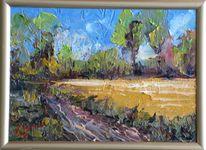 Landschaft, Malerei, August