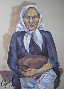 Figural, Malerei, Brot