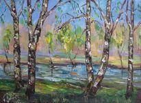 Malerei, Birken