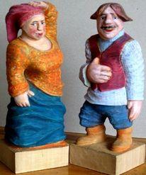 Kunsthandwerk, Holz, Braut