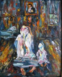Malerei, Figural, Gebet