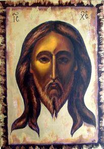 Malerei, Jesus,