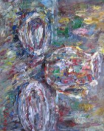 Malerei, Stillleben, Kanne