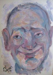 Malerei, Lächeln,