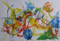 Malerei, Stadt,