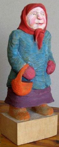 Kunsthandwerk, Holz, Tasche