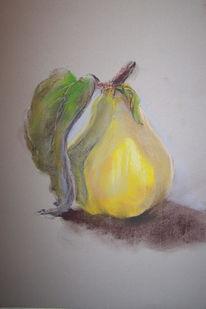 Obst, Frisch, Pastellmalerei, Malerei
