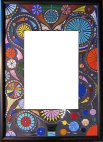 Jürgen traulsen, Tiffanyglas, Kunstspiegel, Mosaikspiegel
