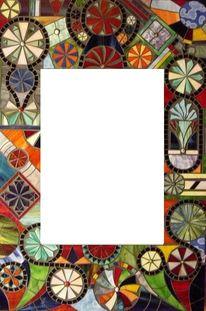 Tiffanyglas, Mosaikspiegel, Jürgen traulsen, Kunstspiegel