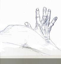 Ausschnitt, Hand