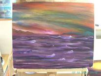 Farben, Fantasie, Fluss, Mitternacht