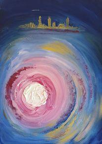 Abstrakt, Licht, Malerei