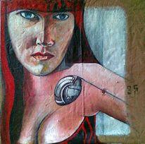 Malerei, Menschen, Zeigen, Weiblichkeit