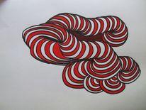 Flexible formen6, Malerei