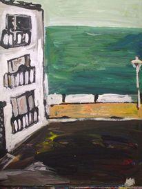 Haus am see, Malerei, Architektur, Haus