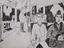 Alperkara, Bahn, Malerei