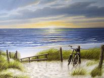Ostfriesland, Nordsee, Malerei