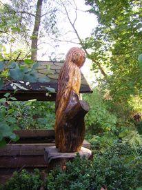 Eule, Wangerland, Skulptur, Plastik