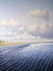 Meer, Sand, Nordsee, Watt