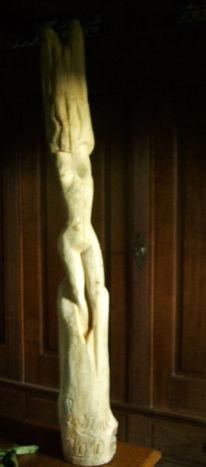 Tettens, Frau, Skulptur, Akt