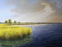 Ostfriesland, Meer, Malerei