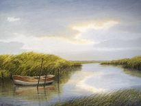 Weite, Ostfriesland, Friesland, See