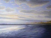 Meer, Nordsee, Strübbe, Insel