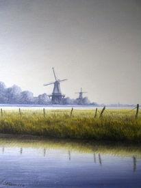 Ostfriesland, Weite, Friesland, Zeichnungen
