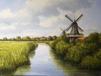 Mühle, Ostfriesland, Friesland, Weite