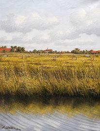 Wangerland, Malerei, Landschaft