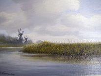 Ostfriesland, Weite, Friesland, Malerei