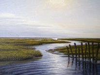 Sand, Watt, Friesland, Weite