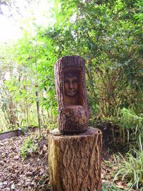 Wangerland, Holz, Skulptur, Plastik