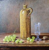 Stillleben, Glas, Malerei