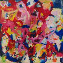 Action painting, Abstrakt, Malerei