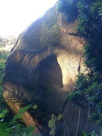Sandstein, Selle, Gartenkunst, Abstrakt
