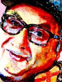 Brille, Gesicht, Portrait, Mann