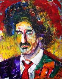 Gesicht, Expressionismus, Portrait, Spontan