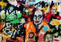 Abstrakt, Skurril, Expressionismus, Farben